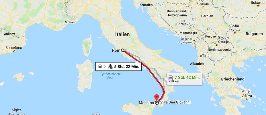 Wo liegt Messina? Wo ist Messina? in welchem land liegt Messina