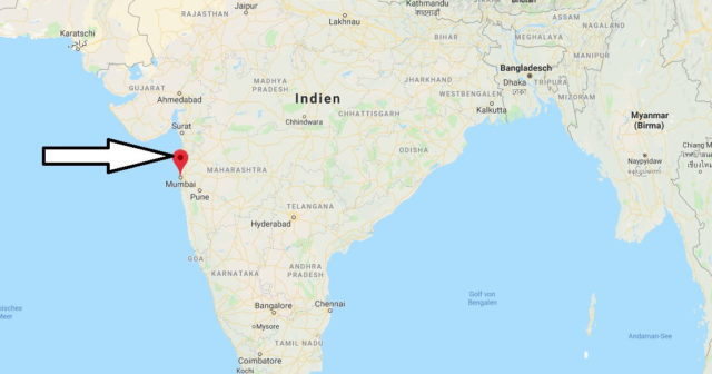 Wo liegt Mumbai? Wo ist Mumbai? in welchem land liegt Mumbai