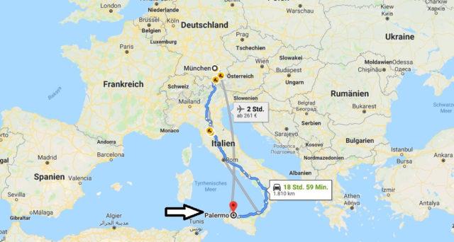 Wo liegt Palermo? Wo ist Palermo? in welchem land liegt Palermo