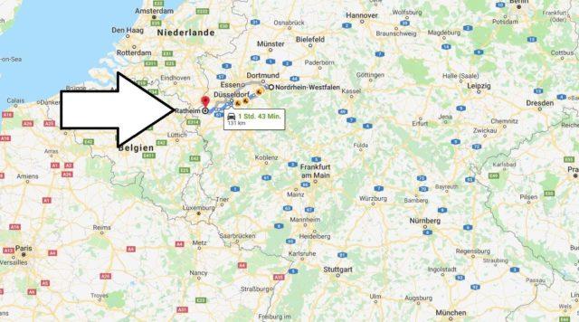 Wo liegt Ratheim? Wo ist Ratheim? in welchem land liegt Ratheim