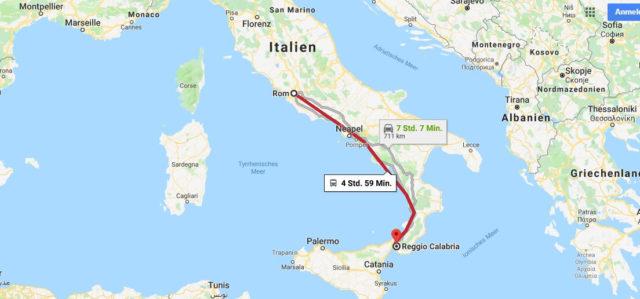 Wo liegt Reggio Calabria? Wo ist Reggio Calabria? in welchem land liegt Reggio Calabria