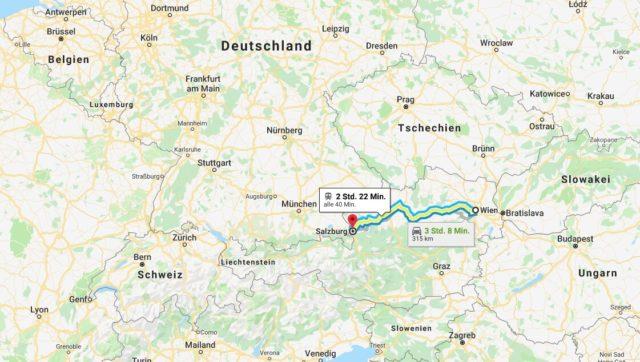 Wo liegt Salzburg? Wo ist Salzburg? in welchem land liegt Salzburg