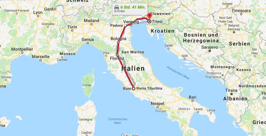 Wo liegt Trieste? Wo ist Trieste? in welchem land liegt Trieste
