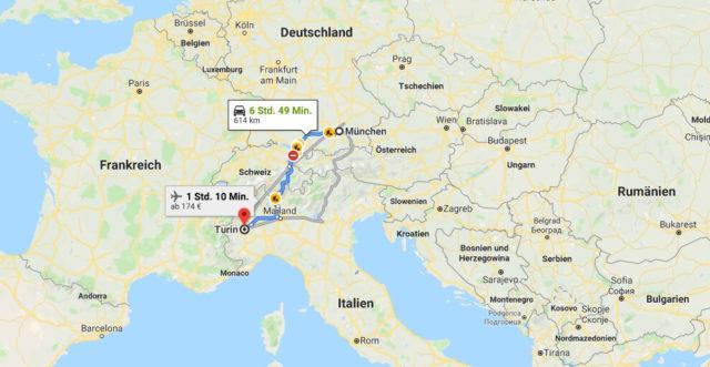 Wo liegt Turin? Wo ist Turin? in welchem land liegt Turin