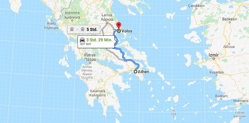 Wo liegt Volos? Wo ist Volos? in welchem land liegt Volos