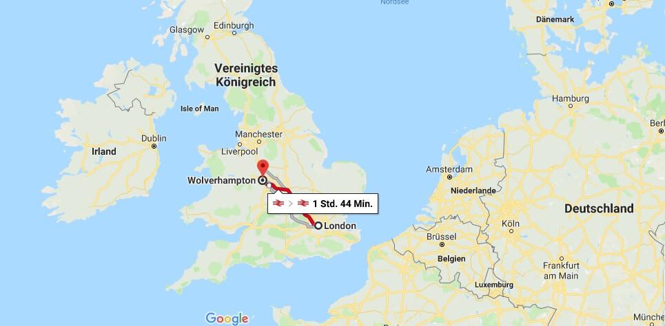 Wo liegt Wolverhampton? Wo ist Wolverhampton? in welchem land liegt Wolverhampton