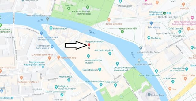 Wo liegt das Pergamonmuseum? Wo ist das Pergamonmuseum