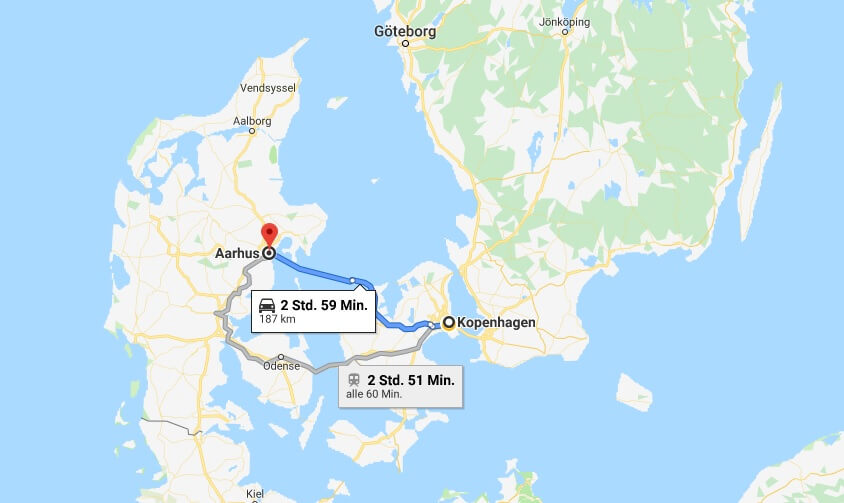 Wo liegt Aarhus? Wo ist Aarhus? in welchem land liegt Aarhus