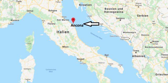 Wo liegt Ancona? Wo ist Ancona? in welchem land liegt Ancona