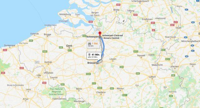 Wo liegt Antwerpen? Wo ist Antwerpen? in welchem land liegt Antwerpen