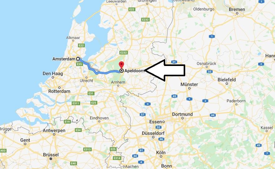 Wo liegt Apeldoorn? Wo ist Apeldoorn? in welchem land liegt Apeldoorn