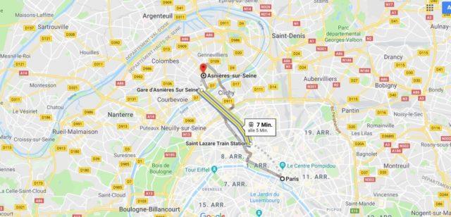 Wo liegt Asnieres-Sur-Seine? Wo ist Asnieres-Sur-Seine? in welchem land liegt Asnieres-Sur-Seine