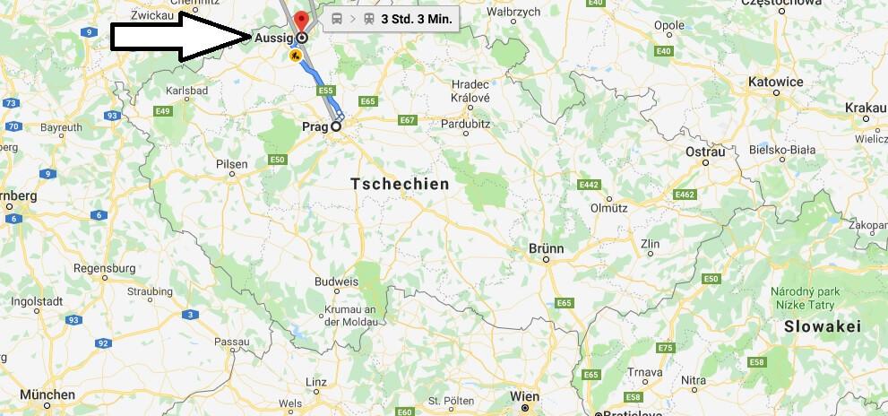 Wo liegt Aussig (Usti Nad Labem)? Wo ist Aussig? in welchem land liegt Aussig
