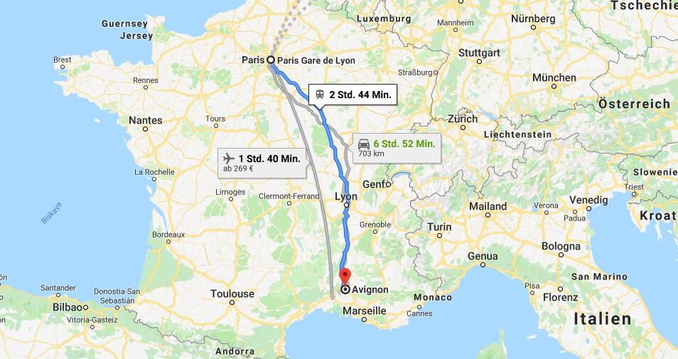 Wo liegt Avignon? Wo ist Avignon? in welchem land liegt Avignon