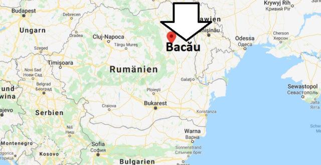 Wo liegt Bacău? Wo ist Bacău? in welchem land liegt Bacău