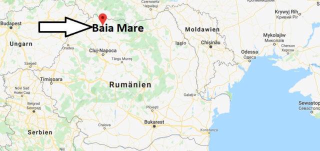 Wo liegt Baia Mare? Wo ist Baia Mare? in welchem land liegt Baia Mare