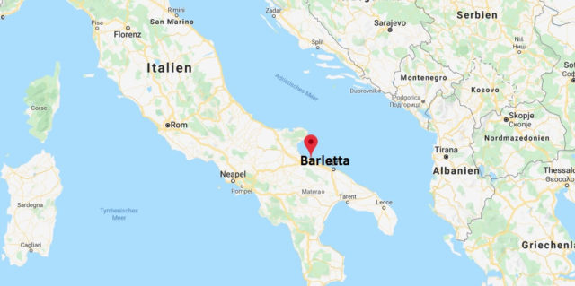 Wo liegt Barletta? Wo ist Barletta? in welchem land liegt Barletta