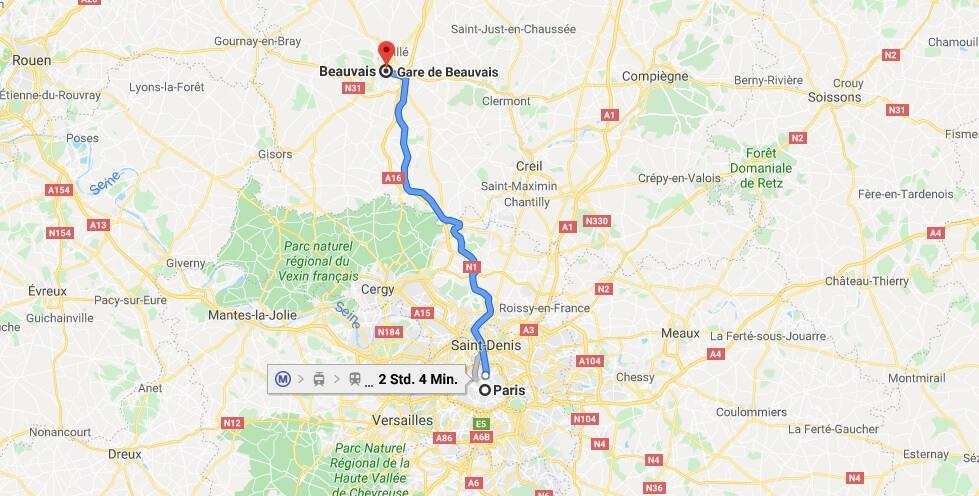 Wo liegt Beauvais? Wo ist Beauvais? in welchem land liegt Beauvais