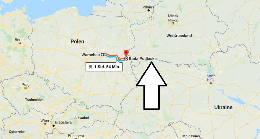 Wo liegt Biała Podlaska? Wo ist Biała Podlaska? in welchem land liegt Biała Podlaska