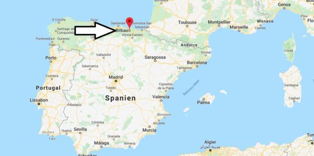 Wo liegt Bilbao? Wo ist Bilbao? in welchem land liegt Bilbao