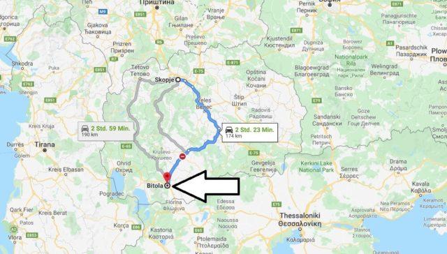 Wo liegt Bitola? Wo ist Bitola? in welchem land liegt Bitola