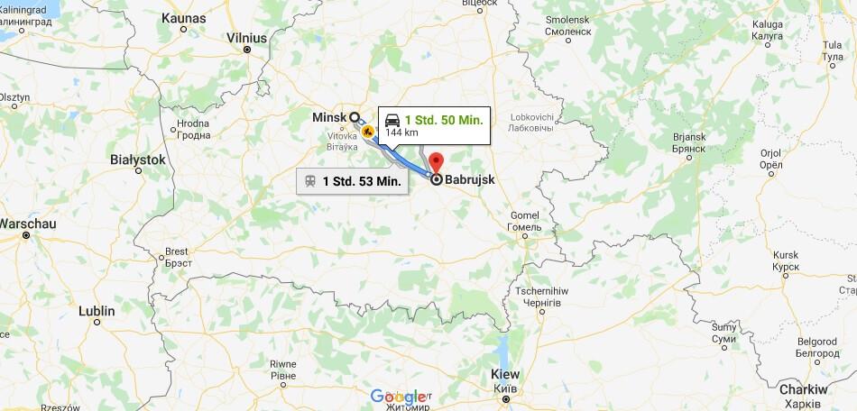 Wo liegt Bobruisk? Wo ist Bobruisk? in welchem land liegt Bobruisk