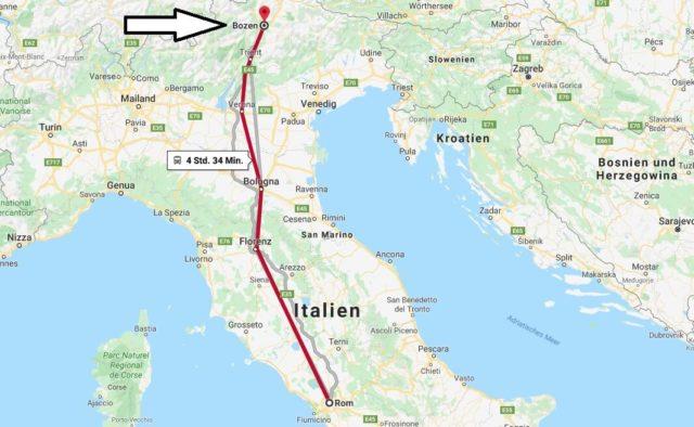 Wo liegt Bolzano? Wo ist Bolzano? in welchem land liegt Bolzano