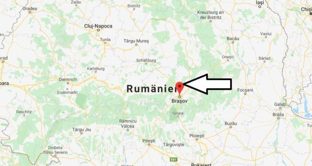 Wo liegt Brașov? Wo ist Brașov? in welchem land liegt Brașov
