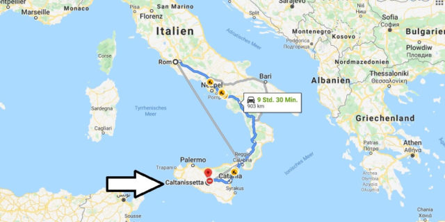 Wo liegt Caltanissetta? Wo ist Caltanissetta? in welchem land liegt Caltanissetta