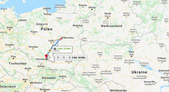 Wo liegt Chorzów? Wo ist Chorzów? in welchem land liegt Chorzów