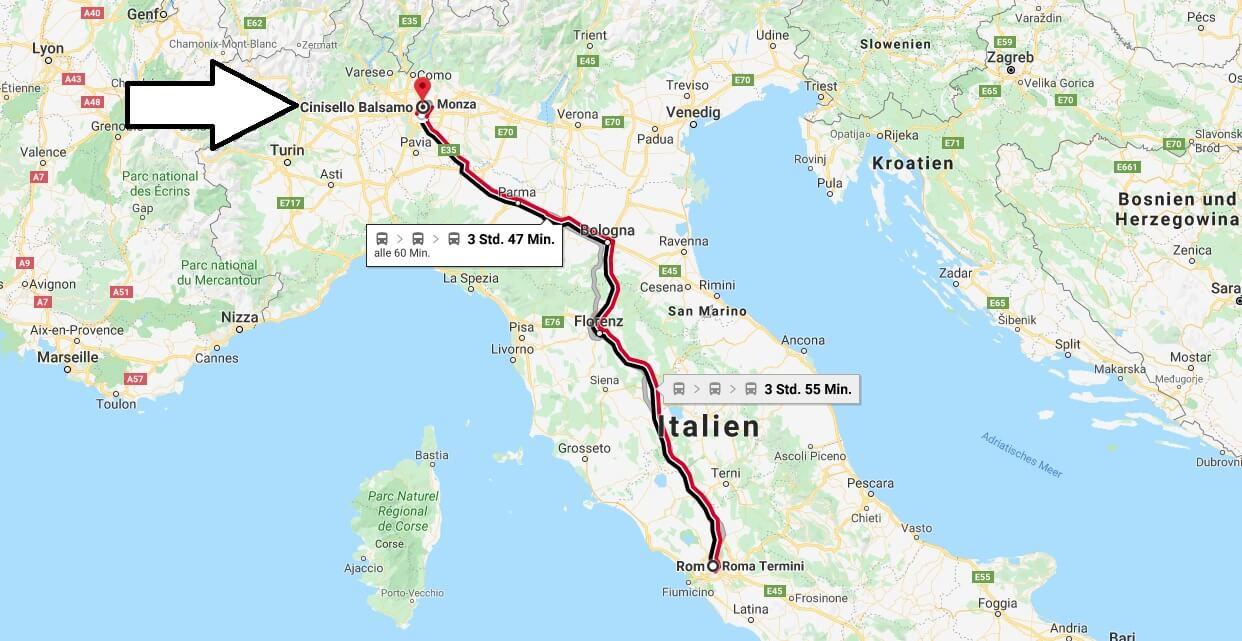 Wo liegt Cinisello Balsamo? Wo ist Cinisello Balsamo? in welchem land liegt Cinisello Balsamo