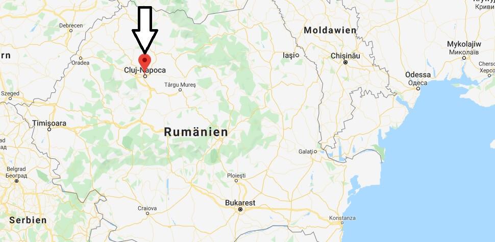 Wo liegt Cluj-Napoca? Wo ist Cluj-Napoca? in welchem land liegt Cluj-Napoca