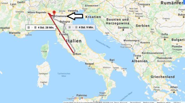 Wo liegt Cremona? Wo ist Cremona? in welchem land liegt Cremona