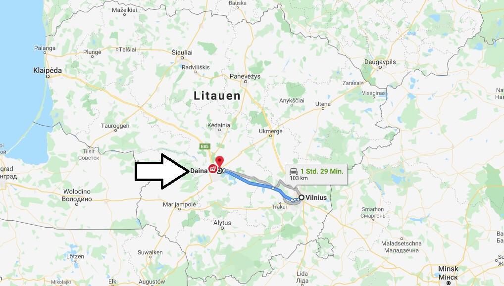 Wo liegt Dainava (Kaunas)? Wo ist Dainava (Kaunas)? in welchem land liegt Dainava (Kaunas)