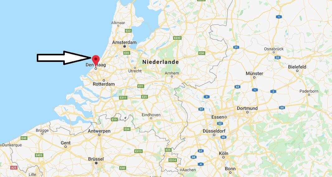 Wo liegt Den Haag? Wo ist Den Haag? in welchem land liegt Den Haag