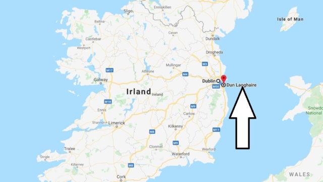 Wo liegt Dun Laoghaire? Wo ist Dun Laoghaire? in welchem land liegt Dun Laoghaire