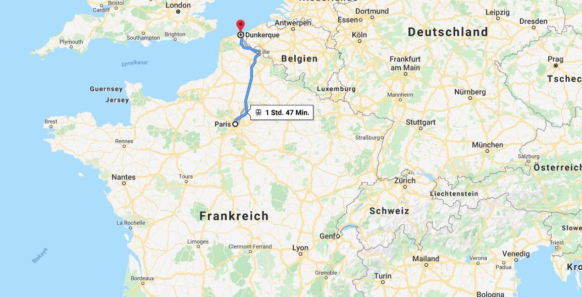 Wo liegt Dunkerque? Wo ist Dunkerque? in welchem land liegt Dunkerque