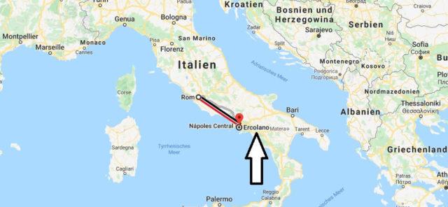Wo liegt Ercolano? Wo ist Ercolano? in welchem land liegt Ercolano
