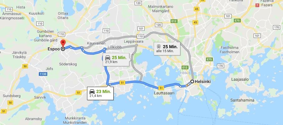 Wo liegt Espoo? Wo ist Espoo? in welchem land liegt Espoo