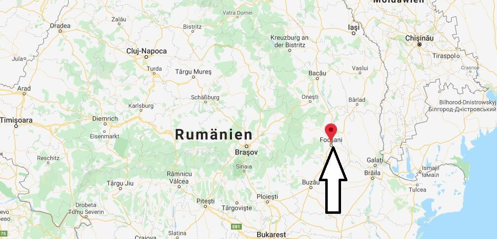Wo liegt Focșani? Wo ist Focșani? in welchem land liegt Focșani