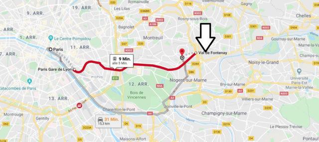 Wo liegt Fontenay-Sous-Bois? Wo ist Fontenay-Sous-Bois? in welchem land liegt Fontenay-Sous-Bois