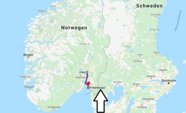 Wo liegt Fredrikstad? Wo ist Fredrikstad? in welchem land liegt Fredrikstad