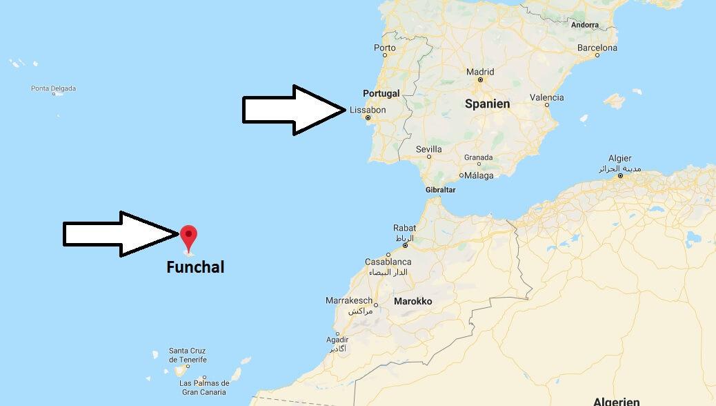 Wo liegt Funchal Wo ist Funchal in welchem land liegt Funchal