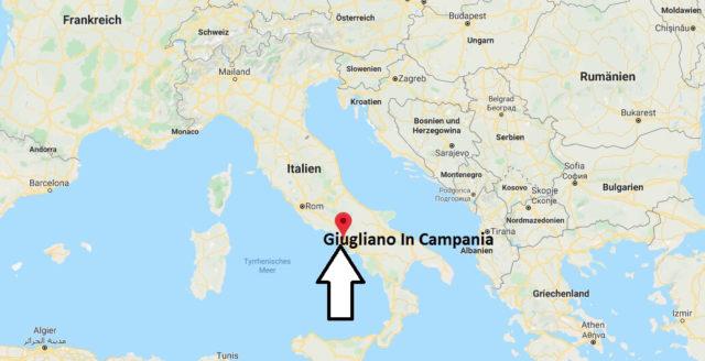 Wo liegt Giugliano In Campania? Wo ist Giugliano In Campania? in welchem land liegt Giugliano In Campania