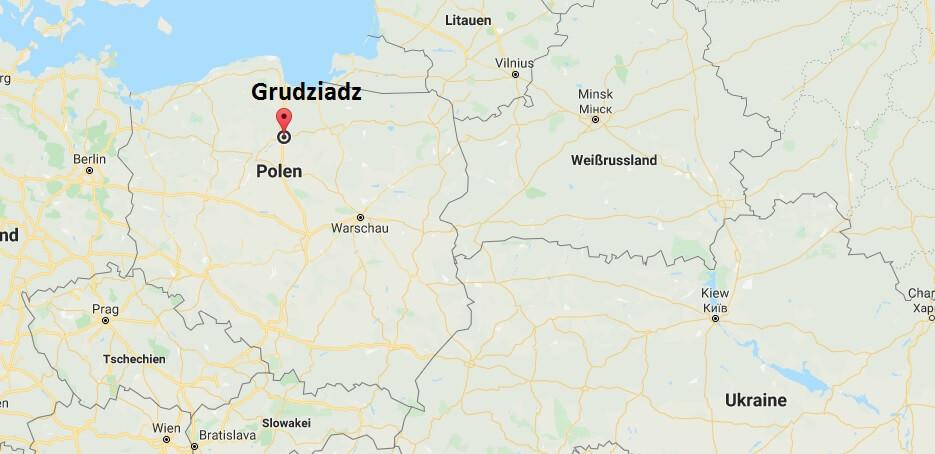 Wo liegt Grudziadz? Wo ist Grudziadz? in welchem land liegt Grudziadz