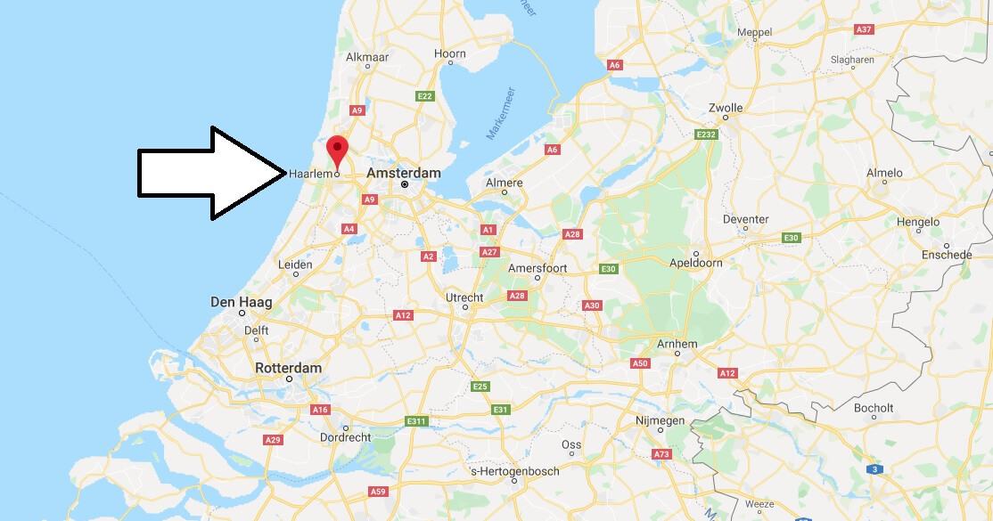 Wo liegt Haarlem? Wo ist Haarlem? in welchem land liegt Haarlem