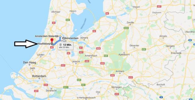 Wo liegt Hoofddorp? Wo ist Hoofddorp? in welchem land liegt Hoofddorp