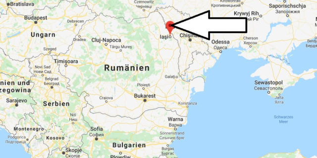 Wo liegt Iași? Wo ist Iași? in welchem land liegt Iași