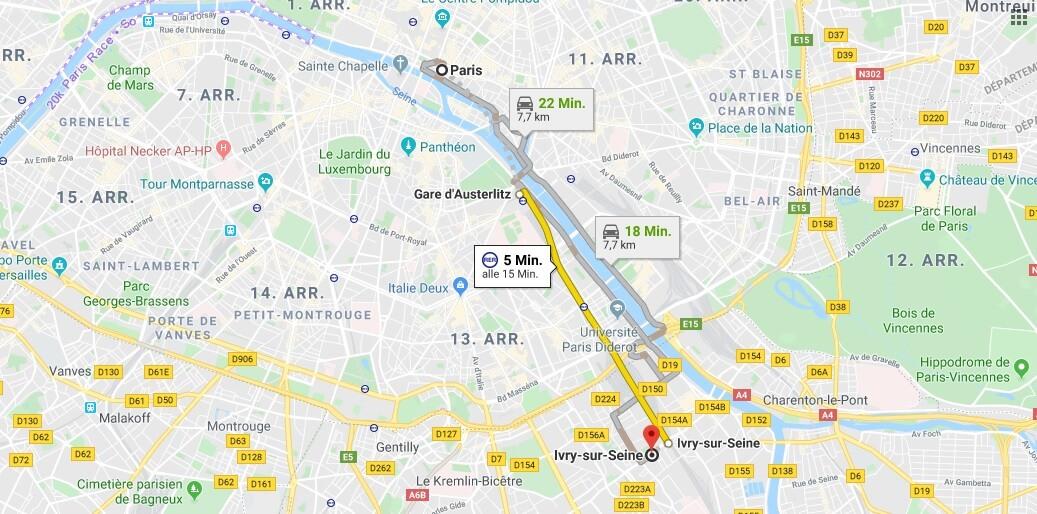 Wo liegt Ivry-Sur-Seine? Wo ist Ivry-Sur-Seine? in welchem land liegt Ivry-Sur-Seine