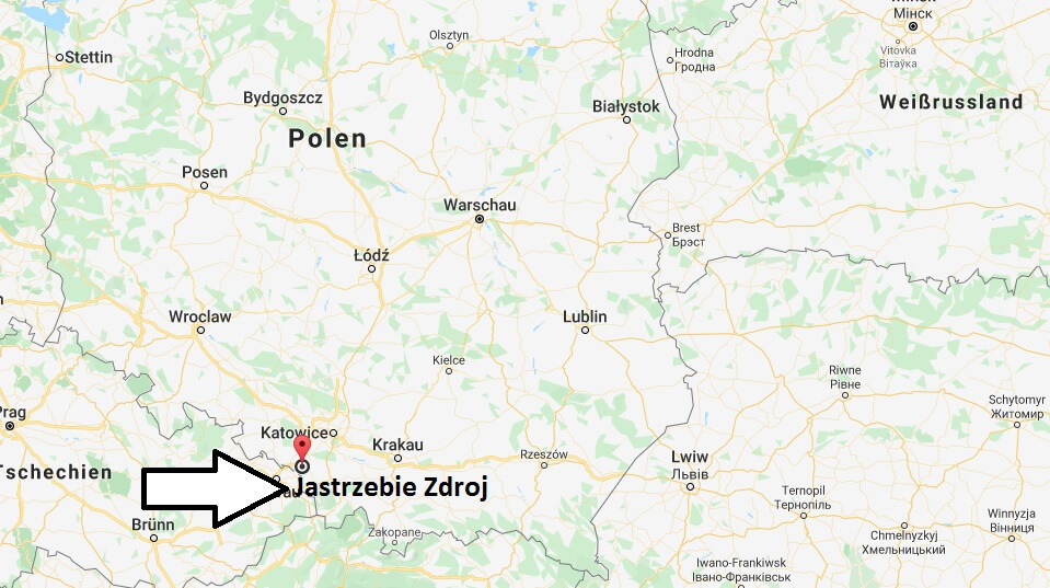 Wo liegt Jastrzebie Zdroj? Wo ist Jastrzebie Zdroj? in welchem land liegt Jastrzebie Zdroj